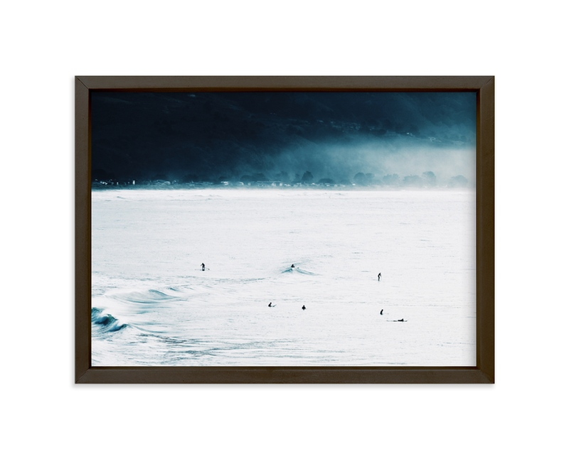 """Smell The Sea + Feel The Sky"" - Limited Edition Art Print by Summer Strauch in beautiful frame options and a variety of sizes."