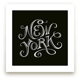 Type Study New York by pottsdesign