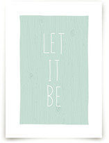 Let It Be by emily elizabeth stationery