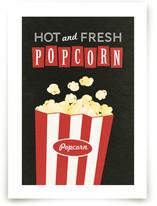 Movie Popcorn Art Prints