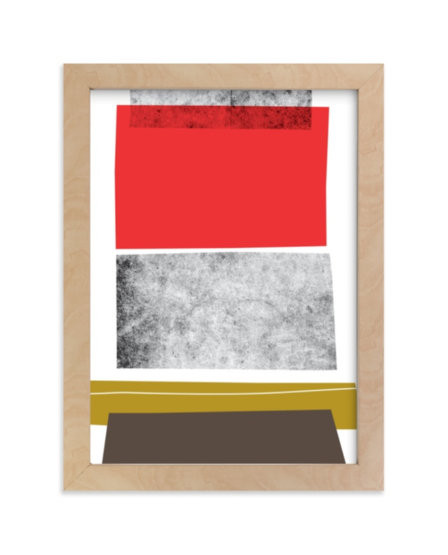 """""""Abstracciones Vol. 3"""" - Limited Edition Art Print by Aspacia Kusulas in beautiful frame options and a variety of sizes."""