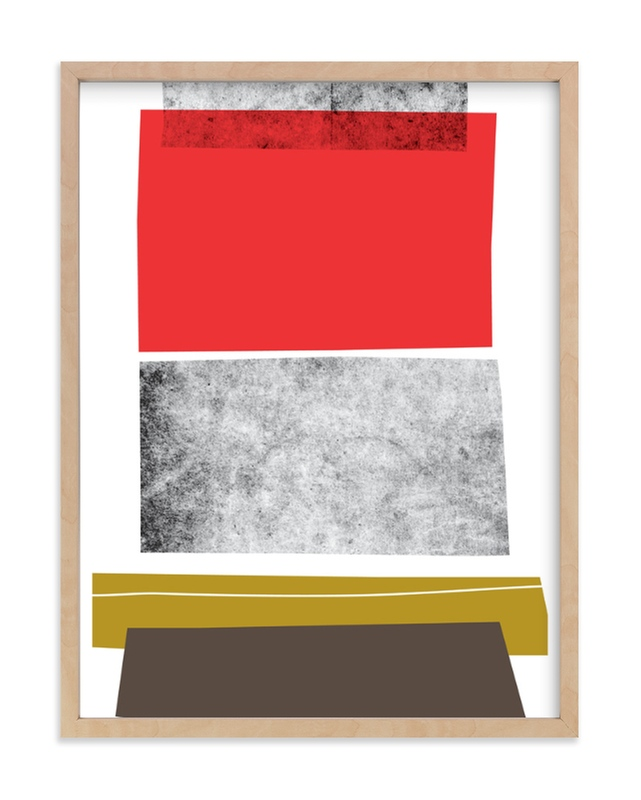 """Abstracciones Vol. 3"" - Limited Edition Art Print by Aspacia Kusulas in beautiful frame options and a variety of sizes."