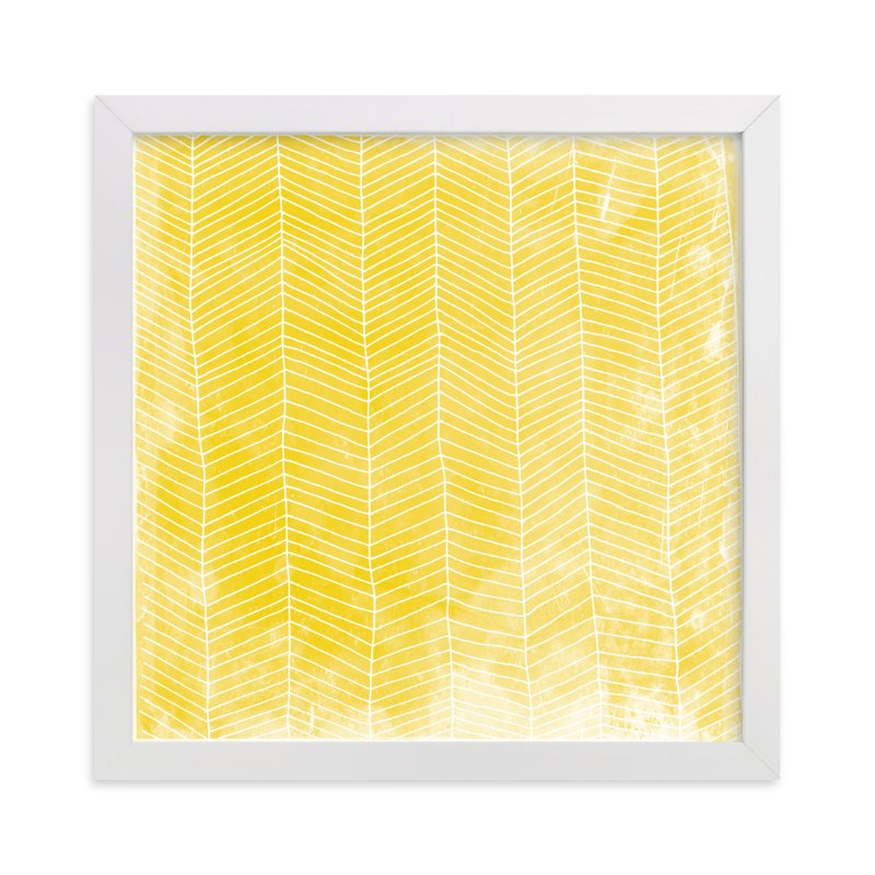 """""""Abstract Herringbone"""" - Limited Edition Art Print by Paper Dahlia in beautiful frame options and a variety of sizes."""