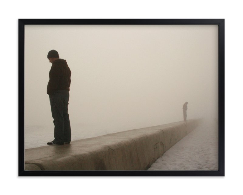 """""""through the fog"""" - Limited Edition Art Print by R studio in beautiful frame options and a variety of sizes."""