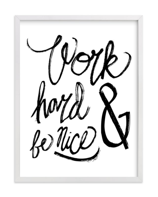 """Nice Work"" - Limited Edition Art Print by Heather Francisco in beautiful frame options and a variety of sizes."