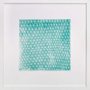 Abstract Triangles Art Print