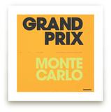 Grand Prix du Monaco by Christopher Morben