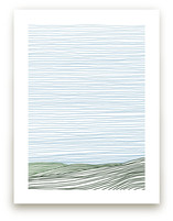 Stripe Landscape: Green Hills