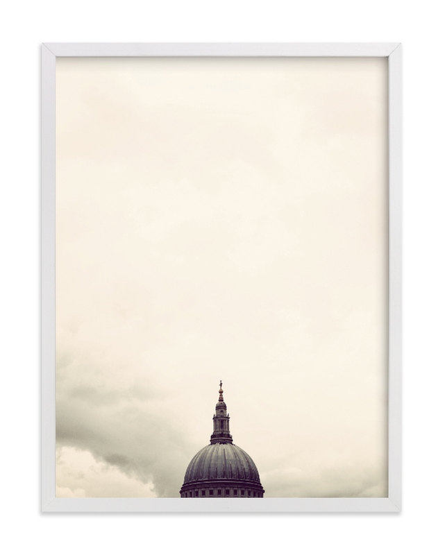 """St. Paul's Cathedral, London"" - Limited Edition Art Print by 45wall design in beautiful frame options and a variety of sizes."