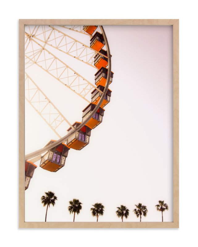"""""""California Dreams"""" - Limited Edition Art Print by Kitty Seeber in beautiful frame options and a variety of sizes."""