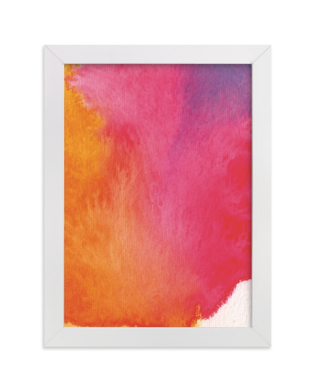 """Rainbow"" - Limited Edition Art Print by Artsy Canvas Girl Designs in beautiful frame options and a variety of sizes."