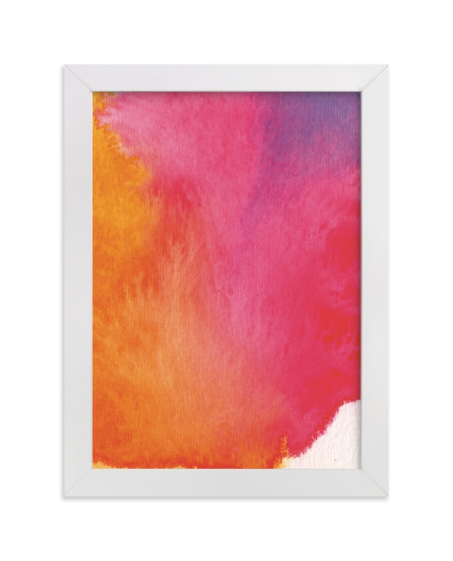 """""""Rainbow"""" - Limited Edition Art Print by Artsy Canvas Girl Designs in beautiful frame options and a variety of sizes."""