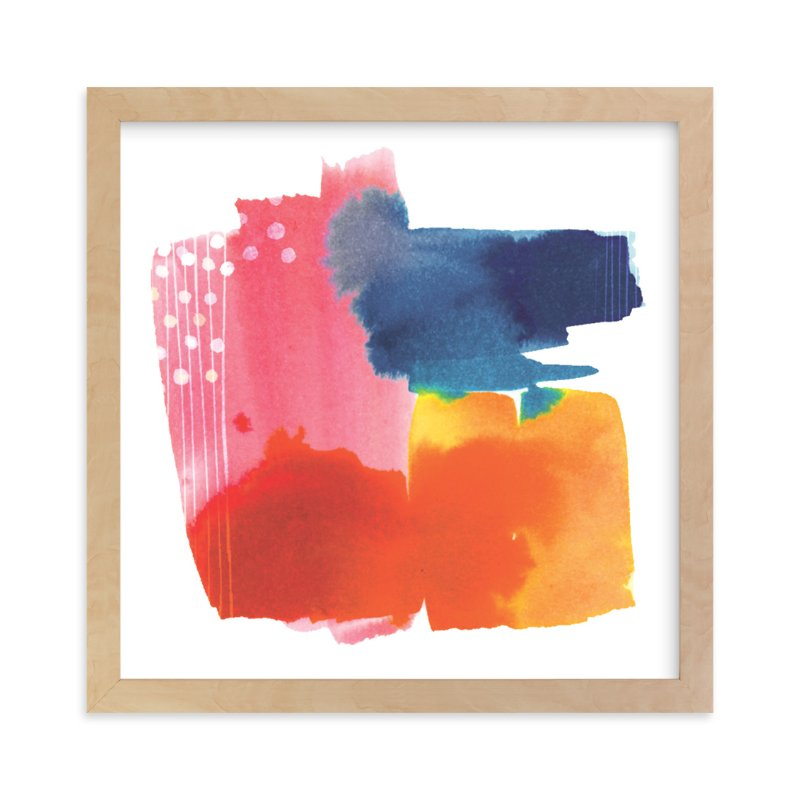 """""""Sunset"""" - Limited Edition Art Print by Jen Chen in beautiful frame options and a variety of sizes."""