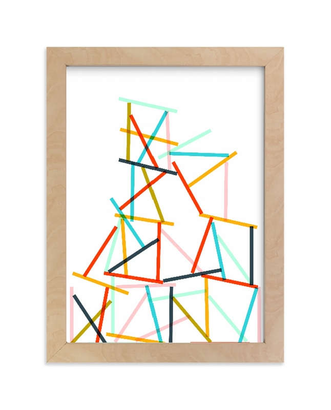 """""""Harmony in Chaos"""" - Limited Edition Art Print by Oscar & Emma in beautiful frame options and a variety of sizes."""