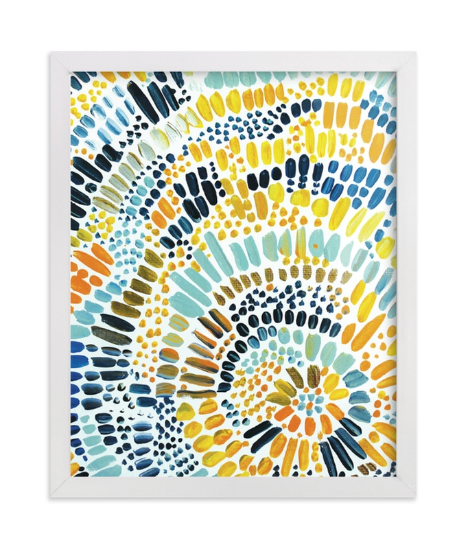 """""""Sun Drop"""" - Limited Edition Art Print by Holly Royval in beautiful frame options and a variety of sizes."""