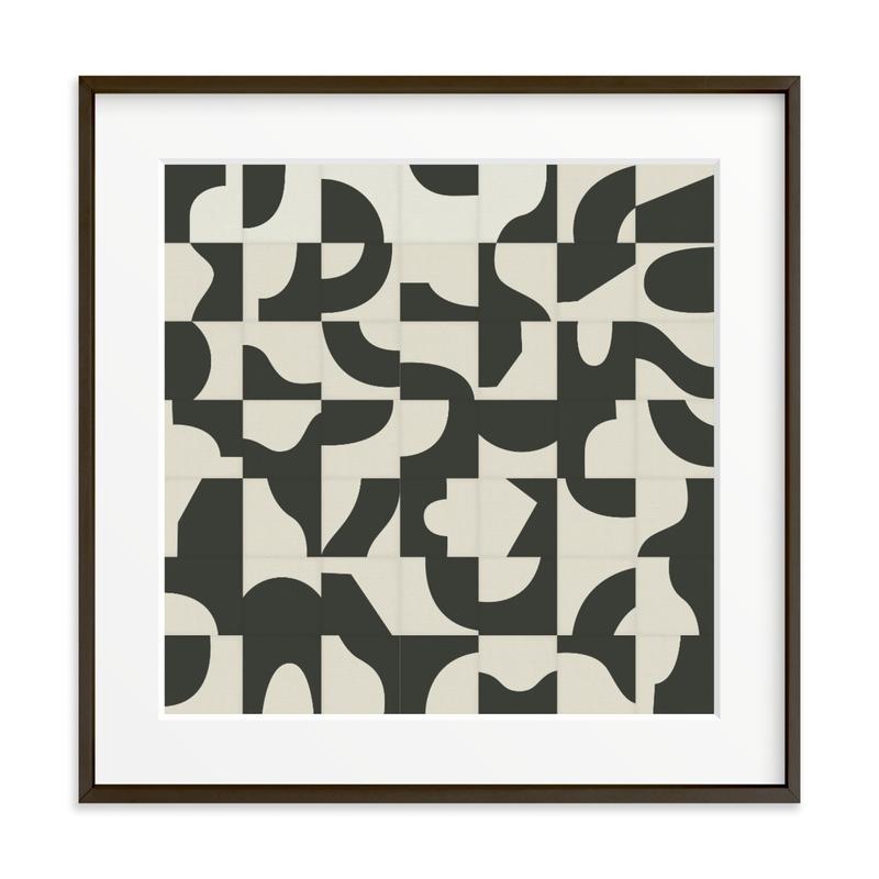 Off The Grid 04 Art Print