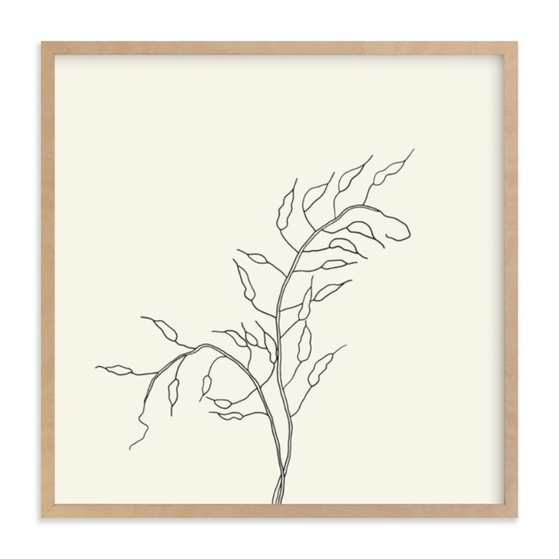 """""""Wild Radish"""" - Limited Edition Art Print by Jorey Hurley in beautiful frame options and a variety of sizes."""