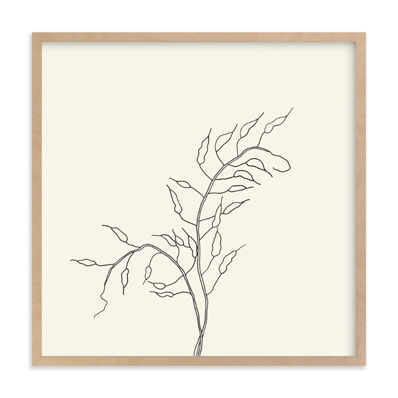 """Wild Radish"" - Limited Edition Art Print by Jorey Hurley in beautiful frame options and a variety of sizes."