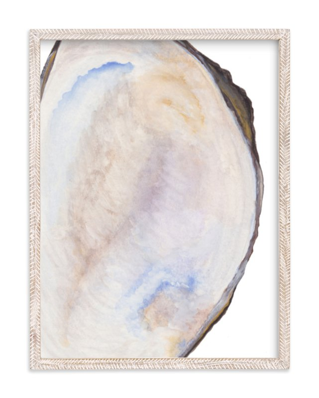 """""""The Half Shell"""" - Limited Edition Art Print by Kaydi Bishop in beautiful frame options and a variety of sizes."""