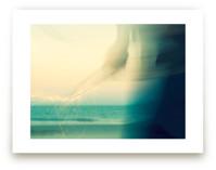 Abstract Beach Sparkler