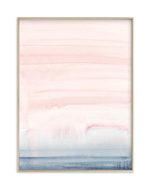Cascading Sky Art Print