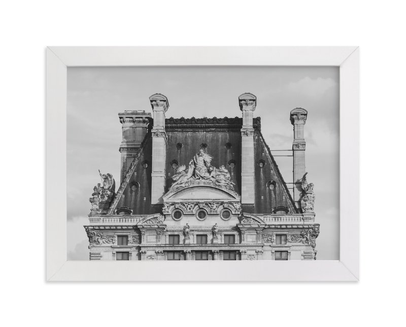 """""""Paris Vieux"""" - Limited Edition Art Print by Lindsay Ferraris Photography in beautiful frame options and a variety of sizes."""