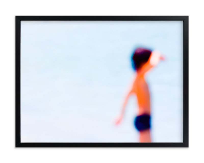 """Sdot Yam beach"" - Limited Edition Art Print by Tal Paz-Fridman in beautiful frame options and a variety of sizes."
