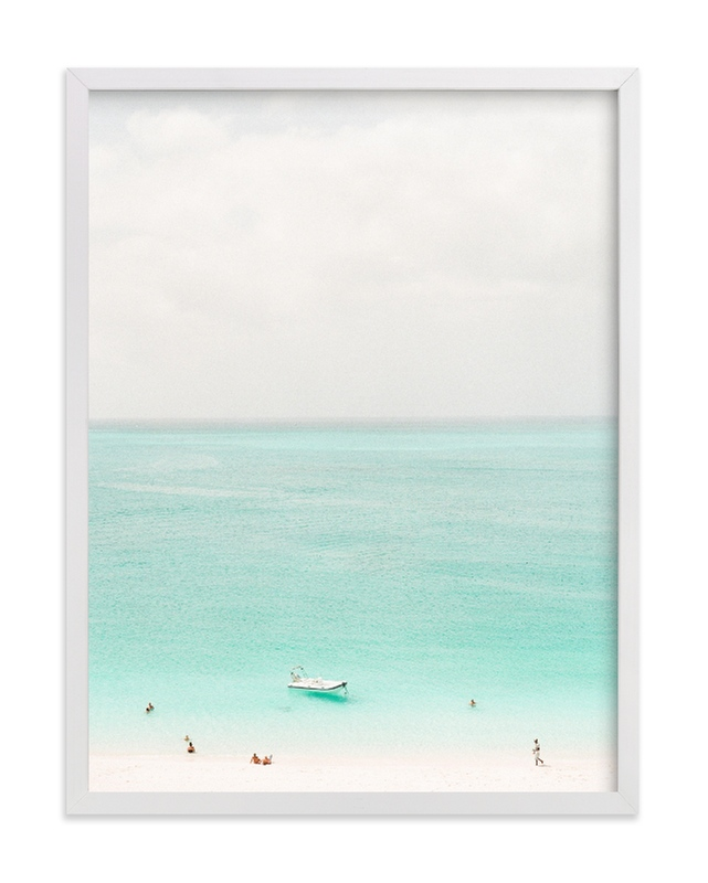 """""""Island Time"""" - Limited Edition Art Print by Lindsay Madden in beautiful frame options and a variety of sizes."""