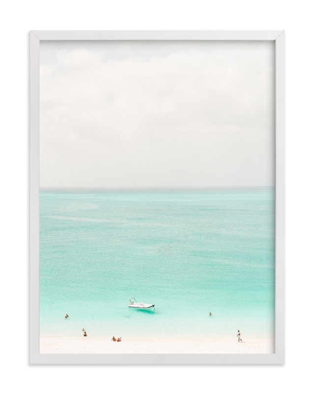 """Island Time"" - Limited Edition Art Print by Lindsay Madden in beautiful frame options and a variety of sizes."