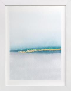 Golden Sand Art Print