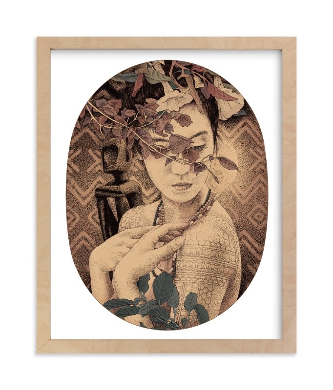 """""""Diwata 1"""" - Limited Edition Art Print by Paper Planes in beautiful frame options and a variety of sizes."""