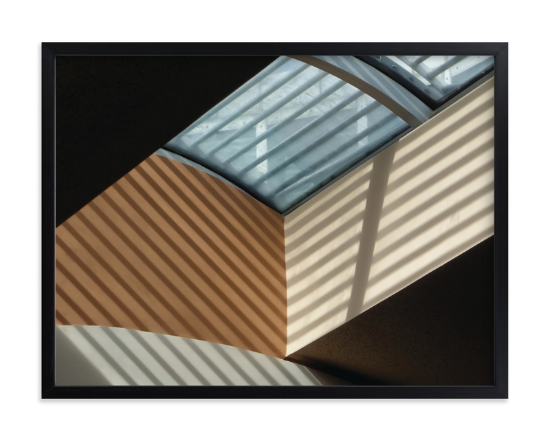 """""""Skylight Shadows"""" - Limited Edition Art Print by A MAZ Design in beautiful frame options and a variety of sizes."""