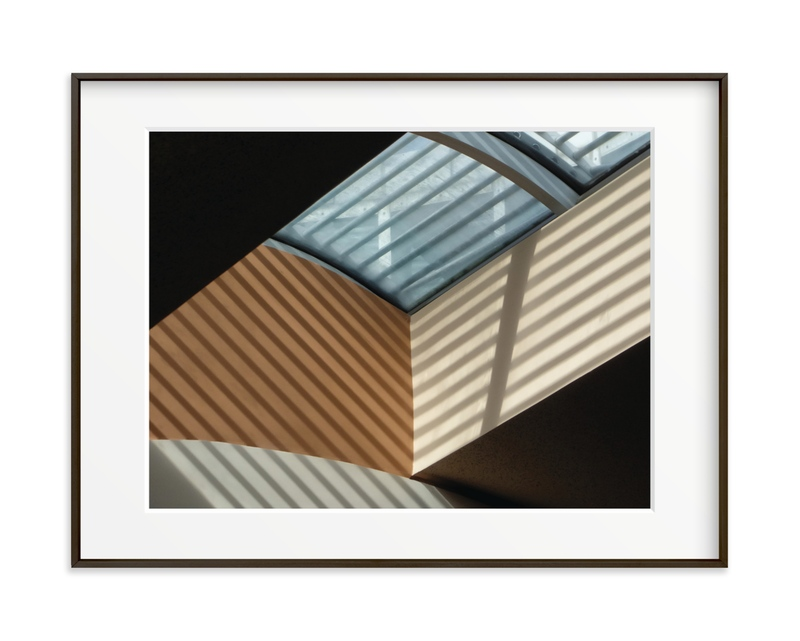 Skylight Shadows Art Print
