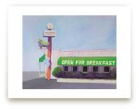 Open for breakfast by Alice Lo