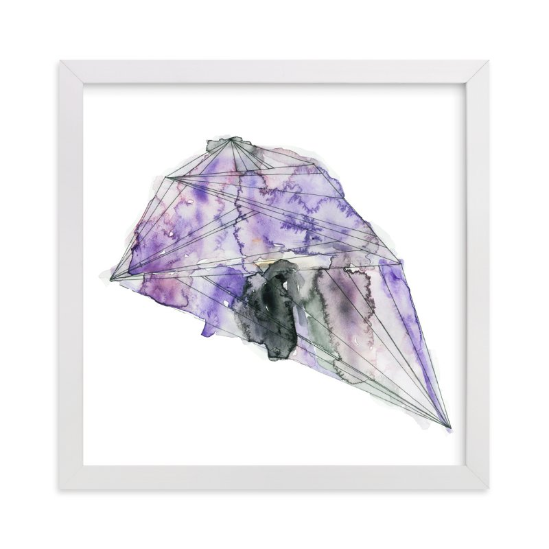 """""""amethyst"""" - Limited Edition Art Print by Naomi Ernest in beautiful frame options and a variety of sizes."""