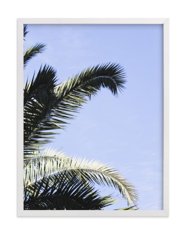 """Palm II"" - Limited Edition Art Print by Annie Montgomery in beautiful frame options and a variety of sizes."