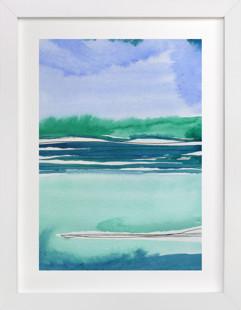 Out To Sea II Art Print