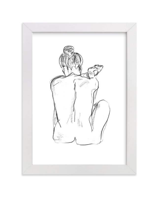 """""""Stretching"""" - Limited Edition Art Print by Miranda Mol in beautiful frame options and a variety of sizes."""