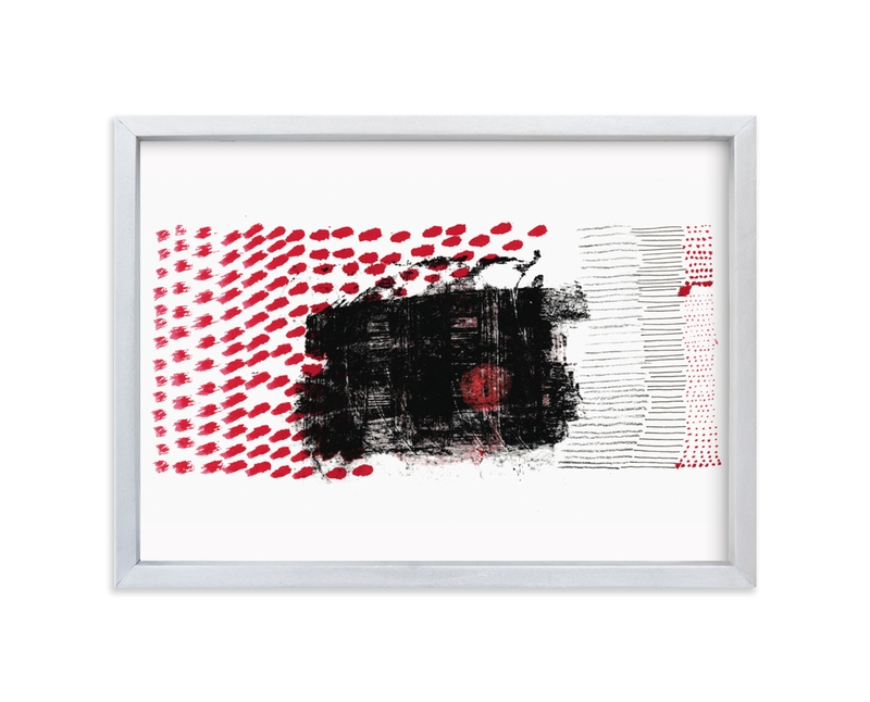 """""""Interactions"""" - Limited Edition Art Print by Bethania Lima in beautiful frame options and a variety of sizes."""