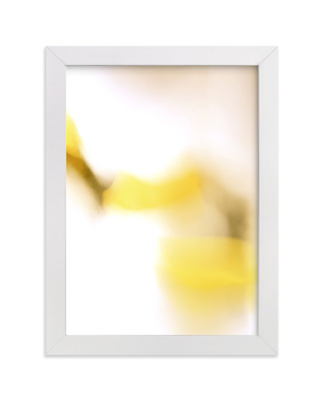 """""""Yellow Connection"""" - Limited Edition Art Print by Lisa Sundin in beautiful frame options and a variety of sizes."""
