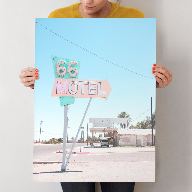 """66"" - Limited Edition Art Print by Calais A Le Coq in beautiful frame options and a variety of sizes."