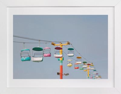 Boardwalk Brights Art Print