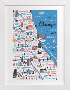I Love Chicago Art Print
