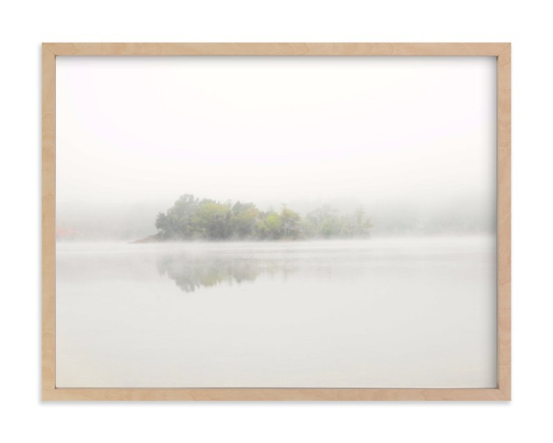 """The Island"" - Limited Edition Art Print by S.L. Bird in beautiful frame options and a variety of sizes."