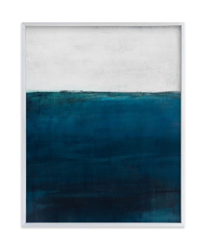 """""""Below the Sea"""" - Limited Edition Art Print by Melissa Marquardt in beautiful frame options and a variety of sizes."""