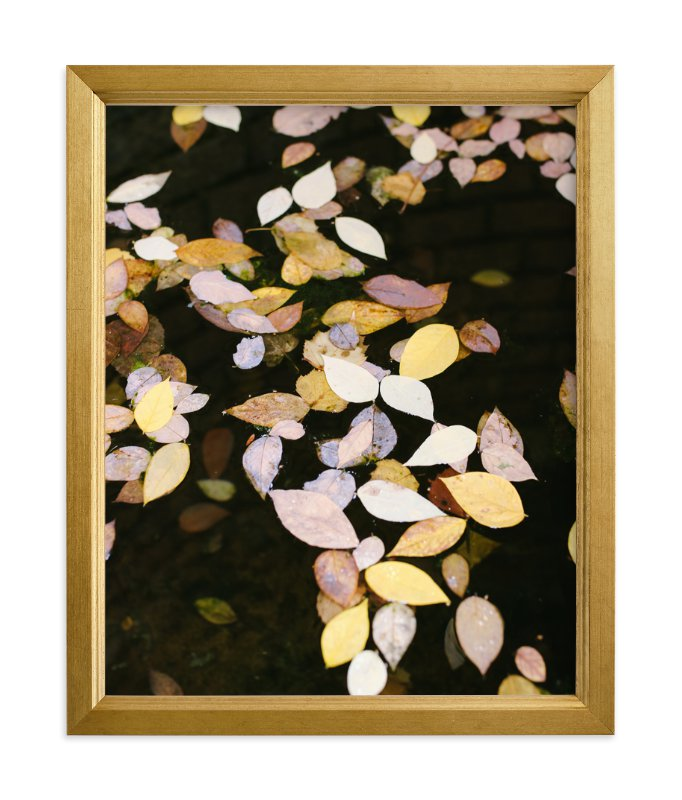 """""""Autumn Palette II"""" - Limited Edition Art Print by lulu and isabelle in beautiful frame options and a variety of sizes."""