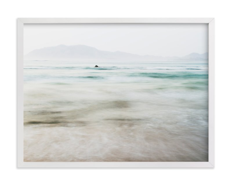 the pacific Art Print
