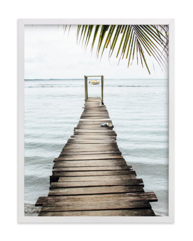 """bocas del toro"" - Limited Edition Art Print by Kaitlin Rebesco in beautiful frame options and a variety of sizes."