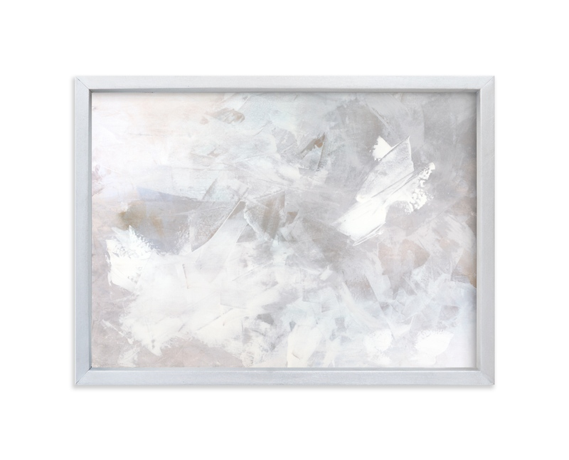 """Melody in White"" - Limited Edition Art Print by Teodora Guererra in beautiful frame options and a variety of sizes."