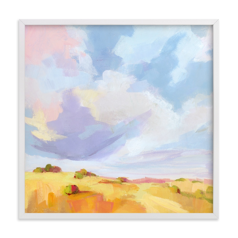 """""""Leaving New Mexico"""" - Limited Edition Art Print by sue prue in beautiful frame options and a variety of sizes."""